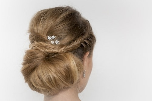 Decorate an updo