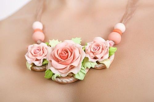 Floral Statement Necklaces