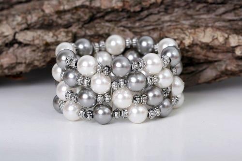 Wrap-Around Freshwater Pearl Bracelet