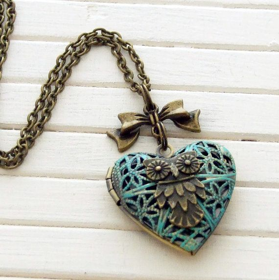 Bird-Inspired Locket
